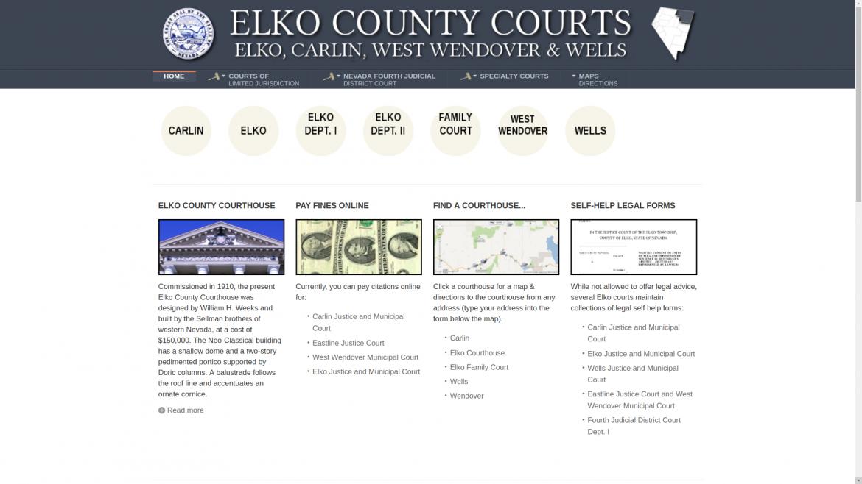 Elko County Courts