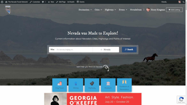 Nevada Travel Network